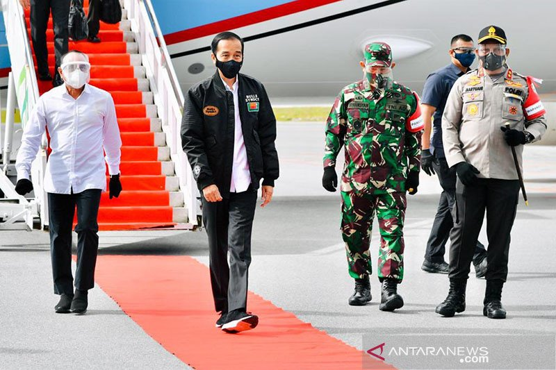 Presiden Jokowi: Lumbung pangan Sumatera Utara jadi contoh provinsi lain