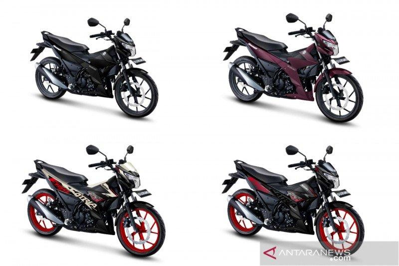 Menawan, lima warna baru Suzuki Satria F150