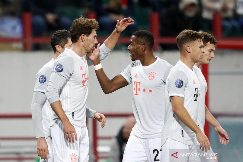 Susah payah Bayern bawa pulang kemenangan dari markas Lokomotiv