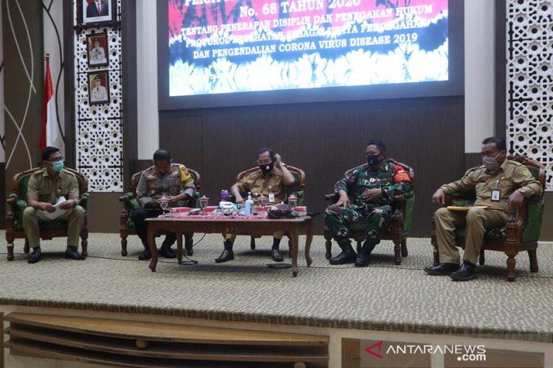 Lepas zona merah, protokol kesehatan di Kota Banjarmasin terus digalakkan