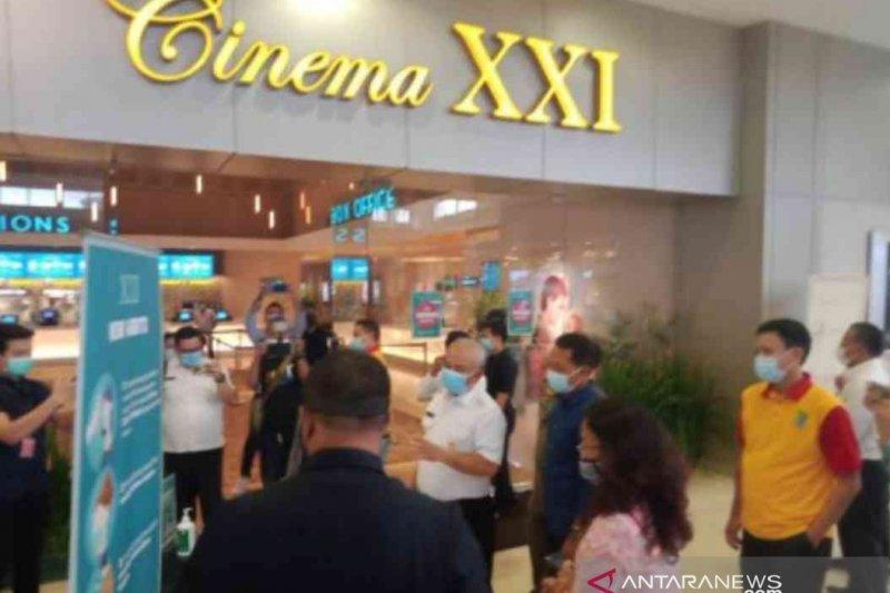 Pengunjung bioskop di Kota Bekasi wajib patuhi protokol kesehatan