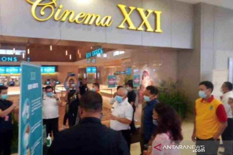 Pertunjukan film bioskop di Kota Bekasi kembali beroperasi