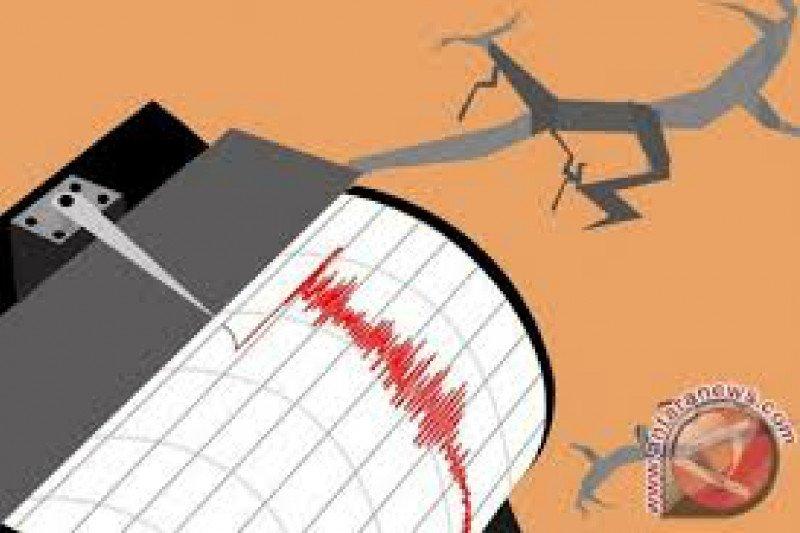Gempa magnitudo 5,7 mengguncang tenggara Bolaang Mongondow Selatan-Sulut