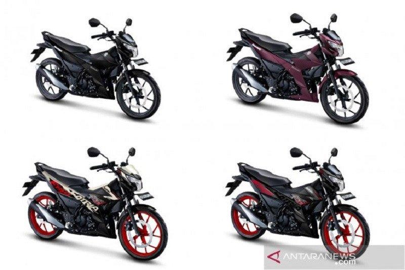 Intip lima warna baru yang diusung Suzuki Satria F150