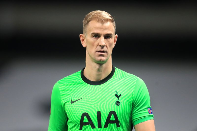 Joe Hart ingin menjadi kiper nomor satu di Tottenham Hotspur