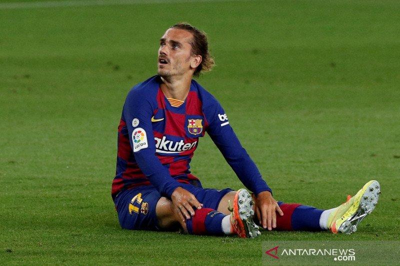 Koeman masih yakin kemampuan mencetak gol Antoine Griezmann
