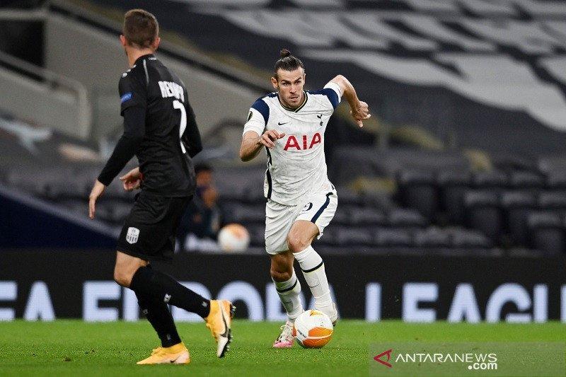 Gareth Bale turun sejak awal pada lawatan Tottenham ke Antwerp