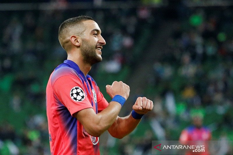 Lampard puji penampilan Hakim Ziyech saat Chelsea kalahkan Krasnodar