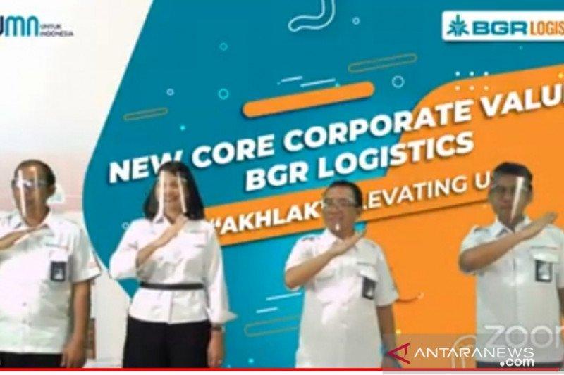 BGR Logistics resmikan AKHLAK sebagai nilai inti baru perusahaan