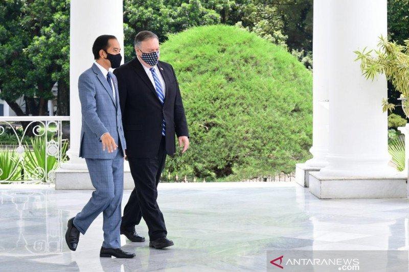 Presiden Jokowi terima Menlu AS Mike Pompeo di Istana Kepresidenan Bogor