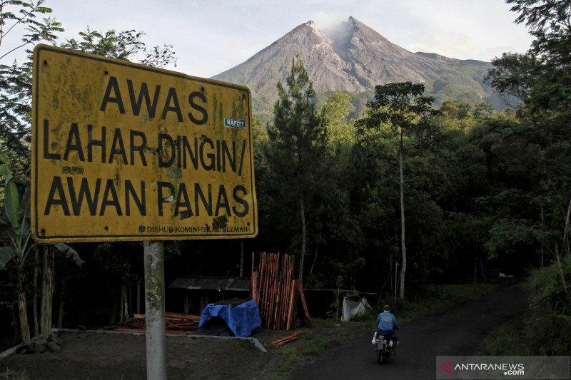 Gunung Merapi mengalami 26 kali gempa guguran
