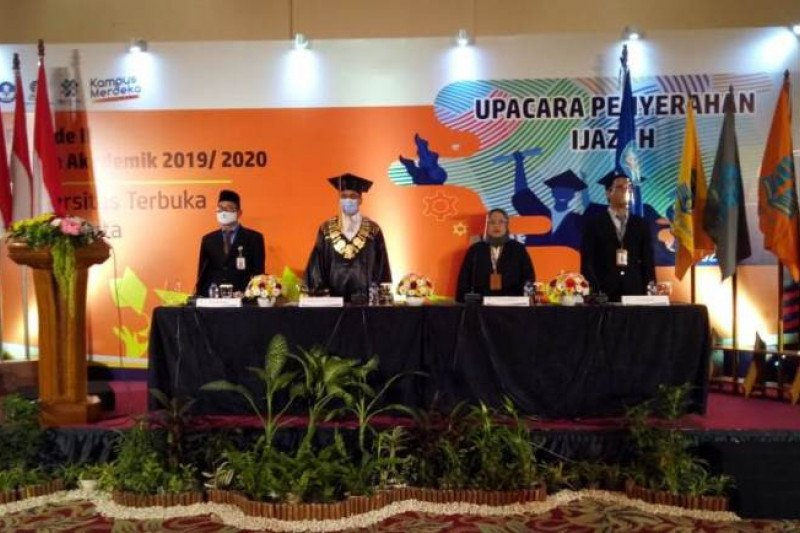 UT Yogyakarta menyelenggarakan UPI secara daring