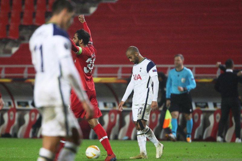 Tottenham Hotspur tergelincir di kandang Royal Antwerp