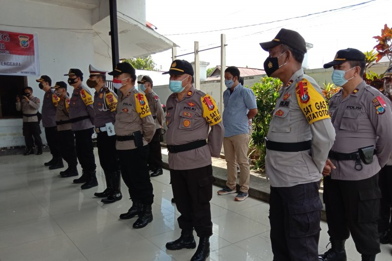 Polres Minahasa Tenggara seriusi pengamanan Pilgub