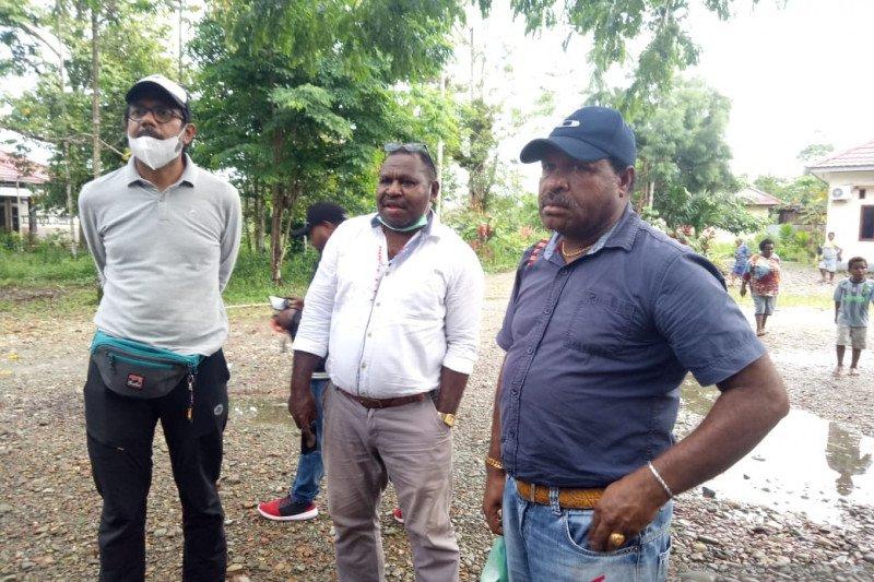 FPHS mulai mendata warga Banti hendak pulang kampung