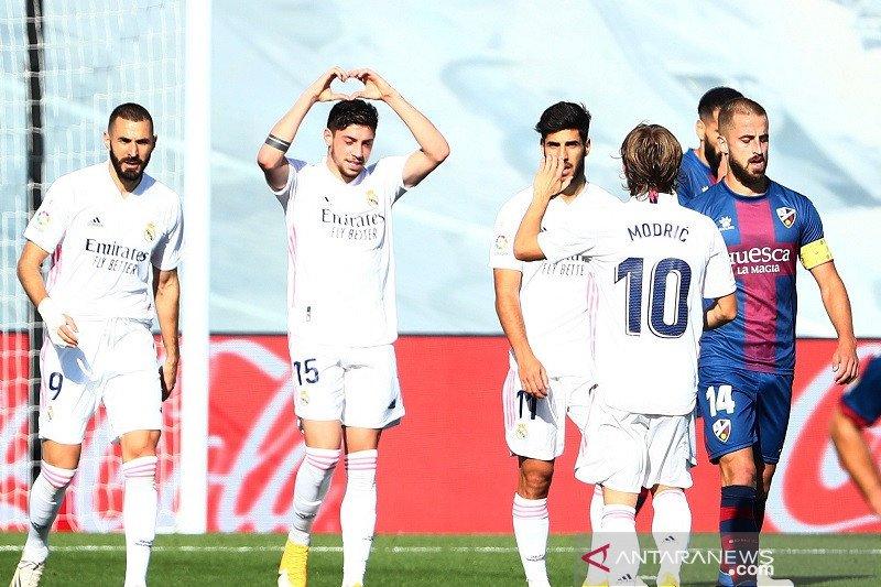 Valverde, pemain Real Madrid patah tulang kaki