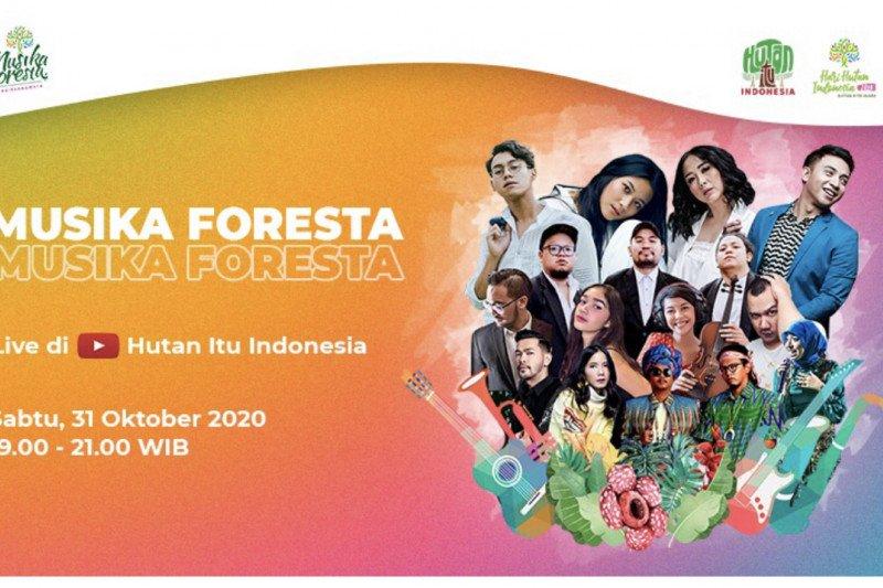 Musisi Indonesia suarakan  cinta hutan #DiRuangMaya
