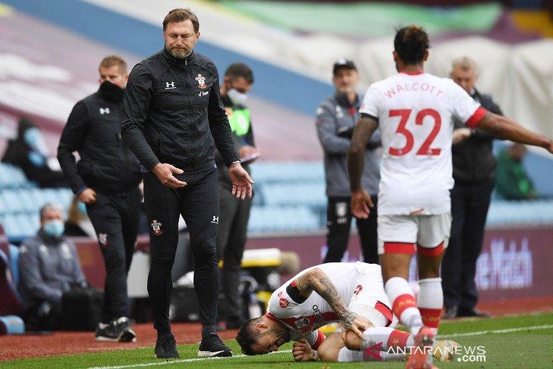 Southampton terancam diterpa badai  cedera usai taklukkan Aston Villa