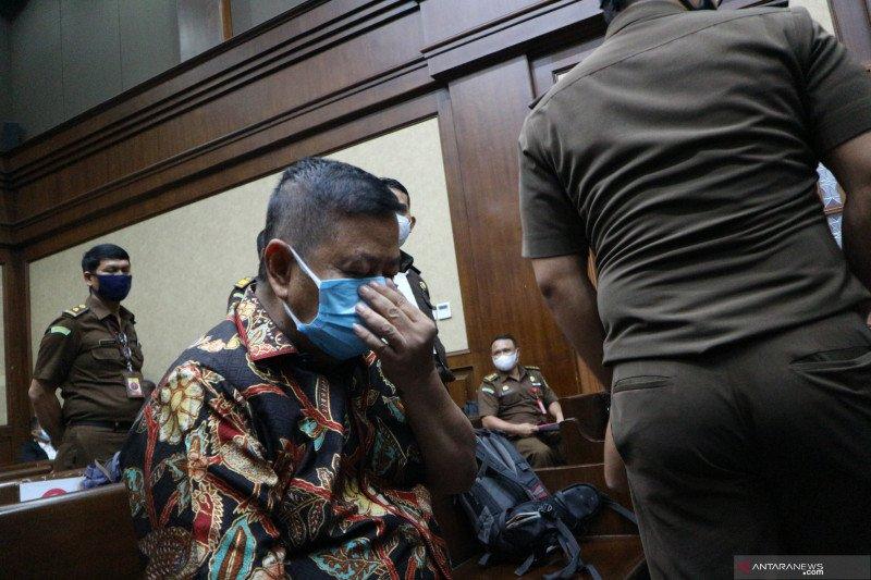 "Perantara suap Joko Tjandra ajukan ""justice collaborator"""