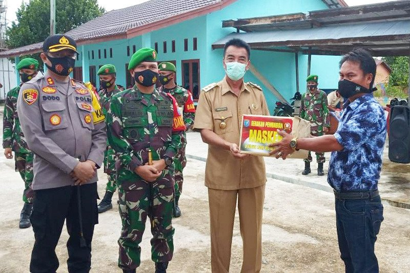 Barito Utara canangkan Satgas Desa Tangkal COVID-19