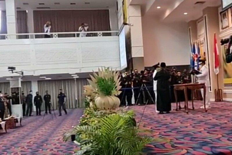 Gubernur Arinal lantik Budi Utomo sebagai Bupati Lampung Utara