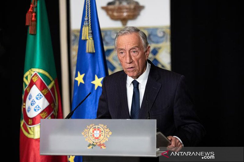Presiden Portugal  Marcelo dinyatakan positif COVID-19, tanpa gejala