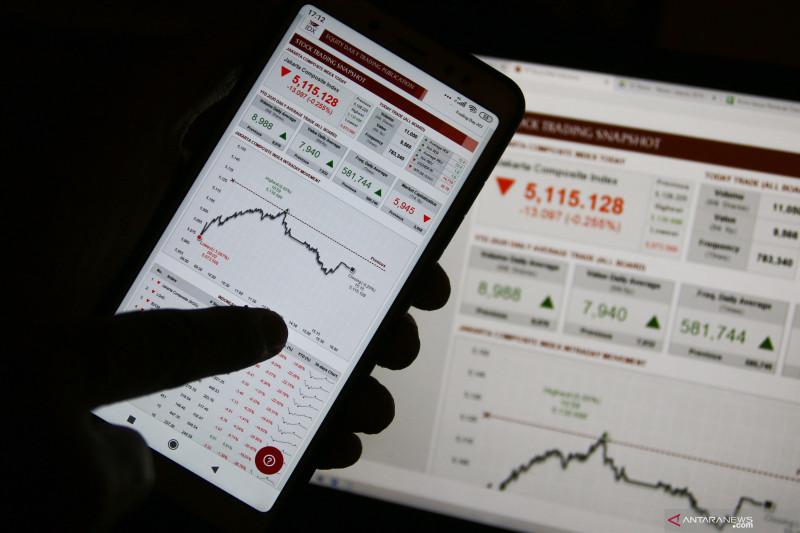 IHSG BEI ditutup melemah seiring aksi jual investor asing