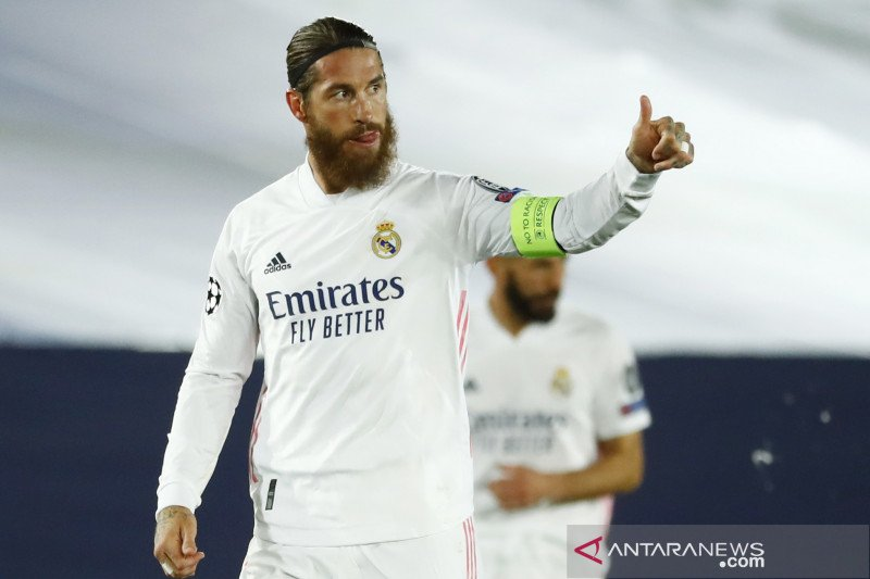 Presiden Real Madrid isyaratkan Sergio Ramos bisa hengkang pada 2021