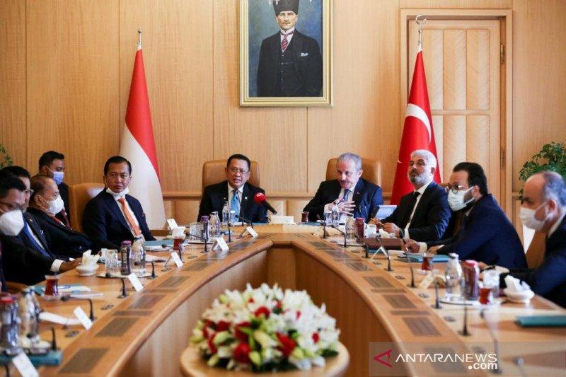 Ketua MPR Bamsoet dialog dengan WNI di Turki jelaskan Tanah Air terkini