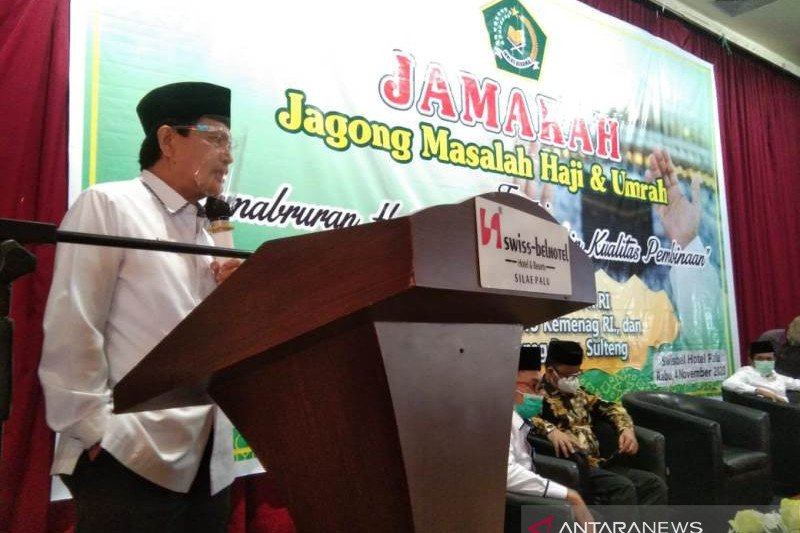 Kemenag Sulteng  gelar Jamarah hadapi musim haji 2021