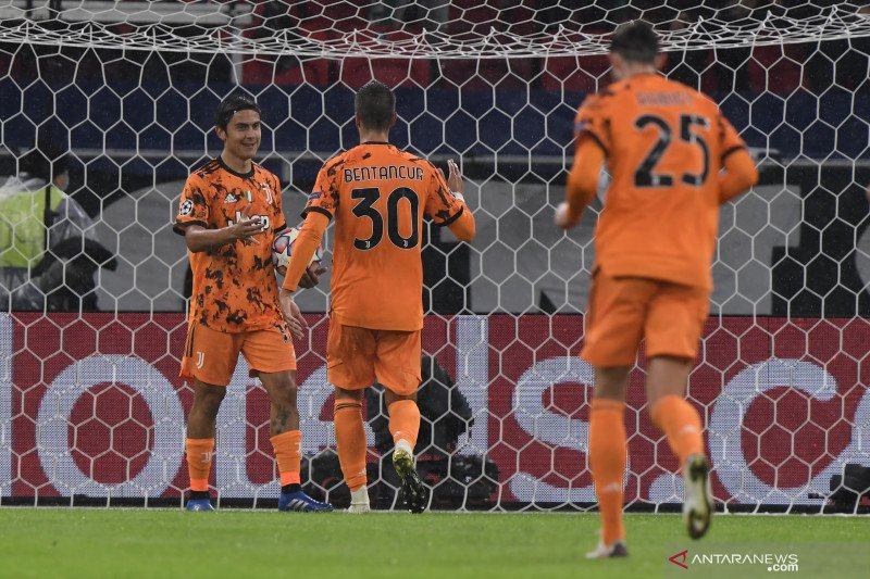 Juventus menang meyakinkan 4-1 atas tuan rumah Ferencvaros