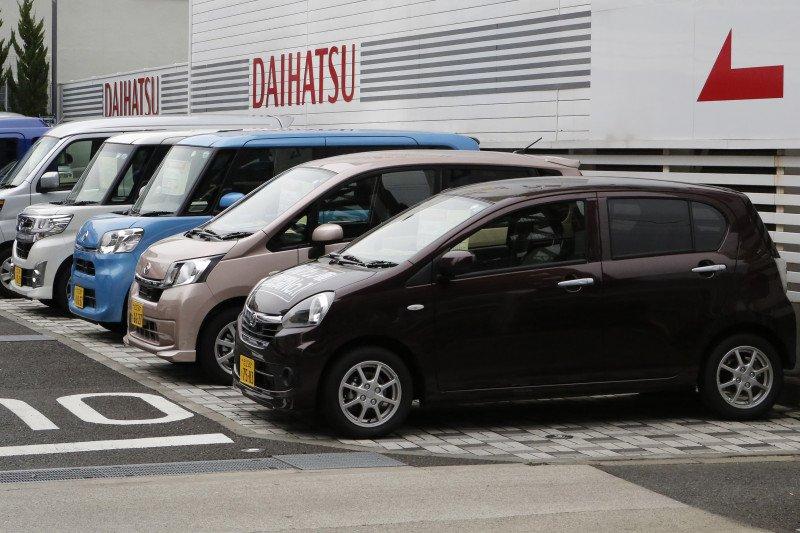 Daihatsu produksi puluhan juta unit mobil di Jepang