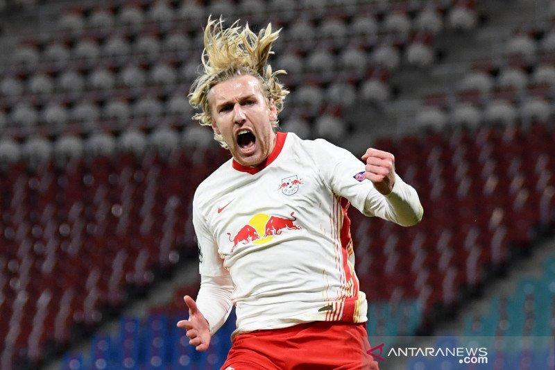 RB Leipzig tumbangkan sembilan pemain PSG