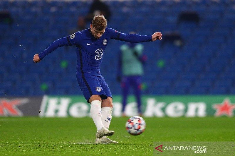 Timor Werner antar Chelsea bekap Rennes