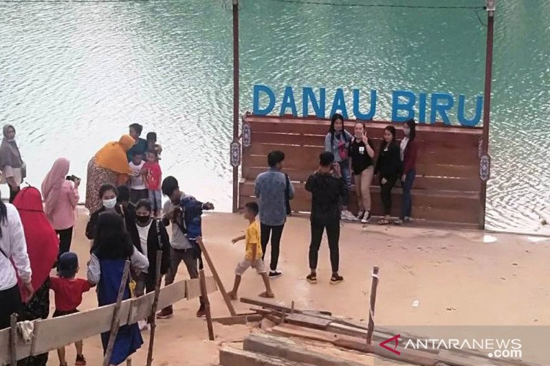 DPRD Kalteng dorong Pemda kembangkan objek wisata 'Danau Biru'