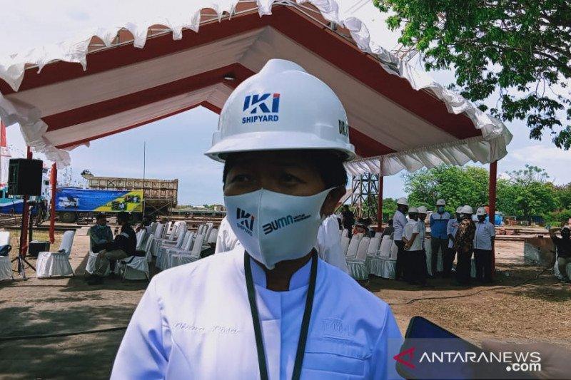 PT IKI buatkan kapal bagi masyarakat Wakatobi