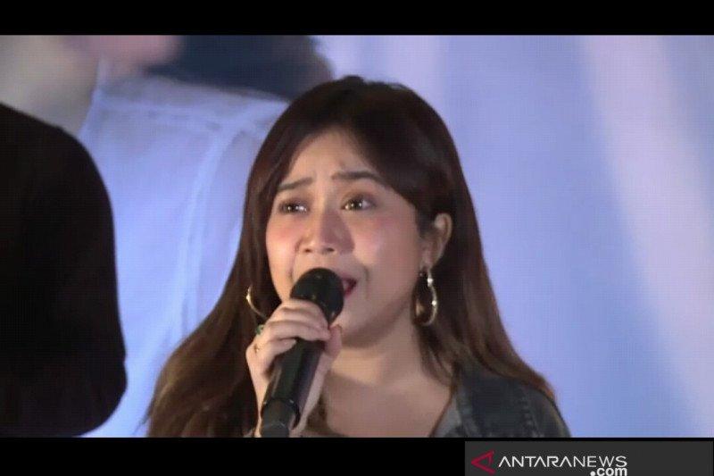 "Brisia Jodie tak kuasa menahan air mata saat rekaman lagu ""Bimbang"""