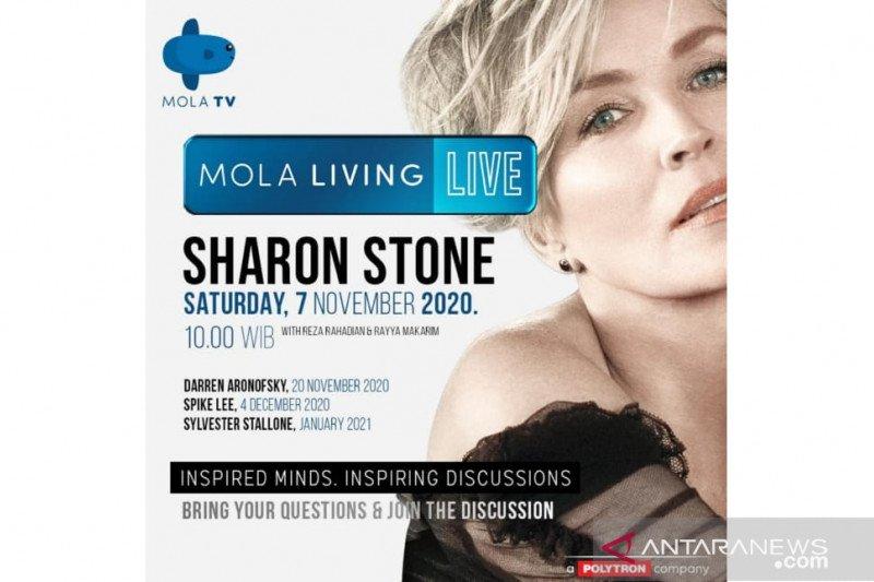 Sharon Stone bakal berbagi kisah bareng Reza Rahardian