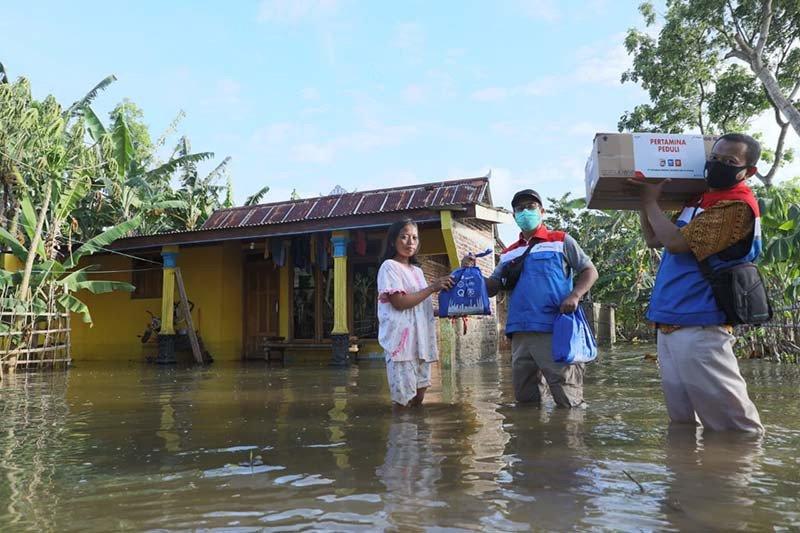 Keluarga besar Pertamina galang dana untuk korban banjir di Cilacap
