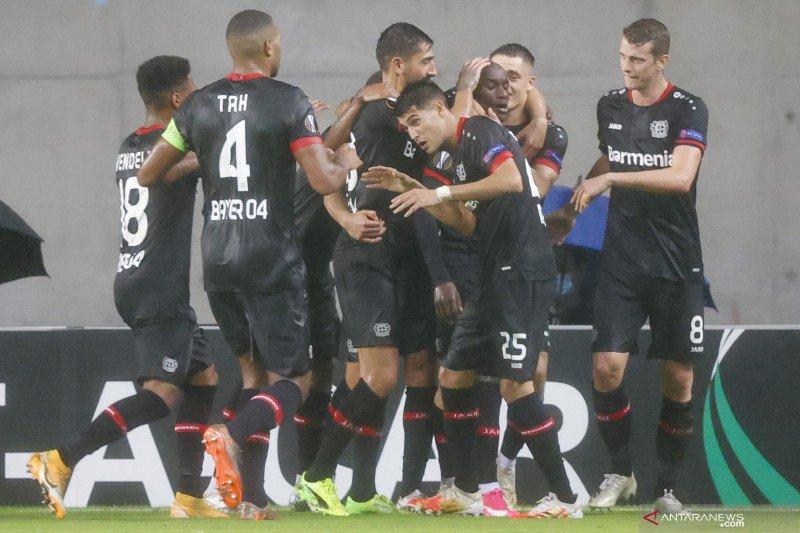 Leverkusen amankan kemenangan 4-2 atas tuan rumah Hapoel