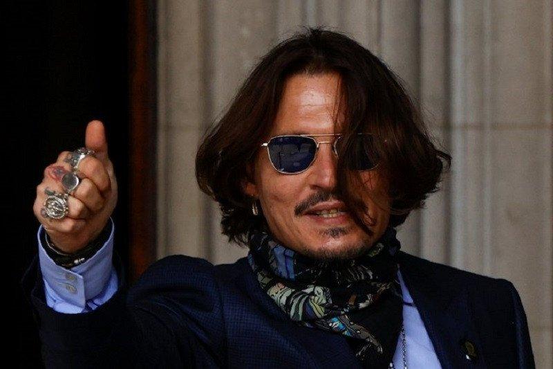 Hakim tolak pengajuan banding Johnny Depp terhadap The Sun