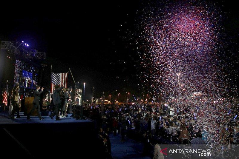 Joe Biden berpidato sebagai  presiden terpilih AS