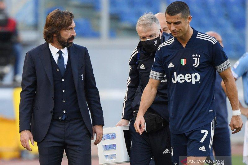 Sempat cetak gol, Andrea Pirlo benarkan Cristiano Ronaldo cedera pergelangan kaki