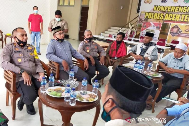 Terungkap, alasan pembacokan ustaz saat berceramah di Aceh