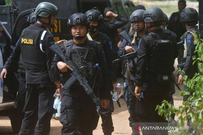 Polisi sebut aksi teror Upik Lawanga di Poso tewaskan 27 orang