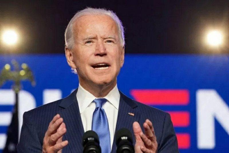 Investor rayakan kemenangan Biden