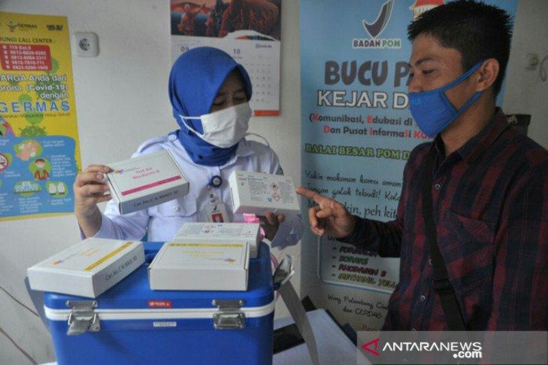 BPOM Palembang luncurkan pojok  pasar jaga keamanan pangan