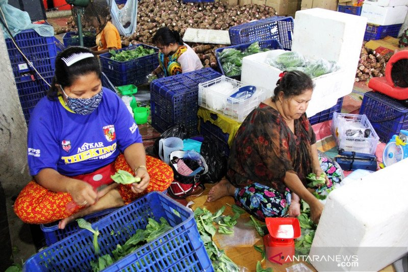 (FOTO) Sayur Dumai tembus Malaysia