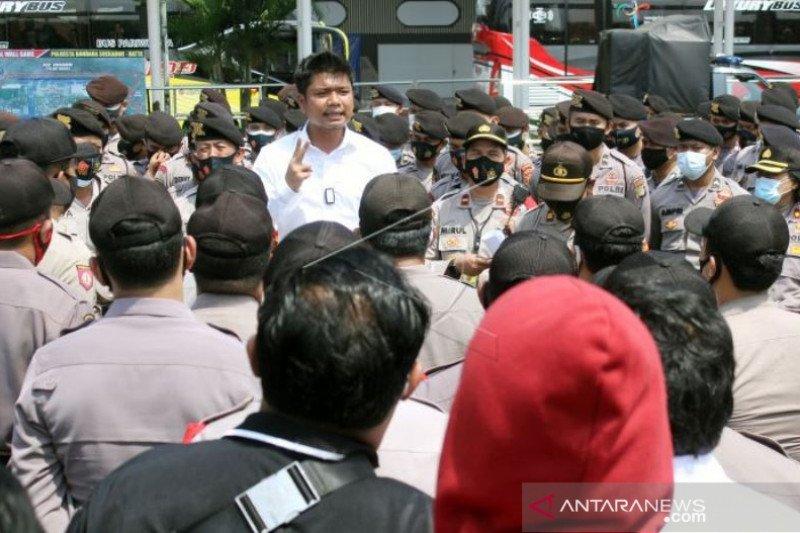 Apel Gabungan Pengamanan Kepulangan  Habib Rizieq Shihab