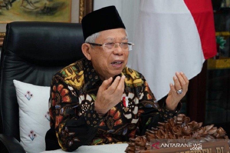 Ma'ruf Amin: Segera sadarkan orang yang memaksakan khilafah di Indonesia